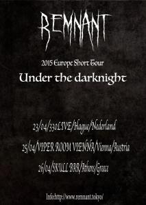 REMNANT tour