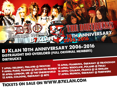 B7 Klan 10th anniversary